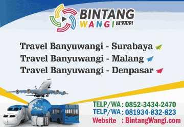 Bintang Wangi Trans Travel Murah Banyuwangi Surabaya Malang Denpasar Bali