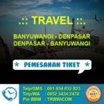 Travel Bali – Banyuwangi (PP)