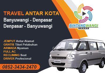 Travel Denpasar Banyuwangi Bali